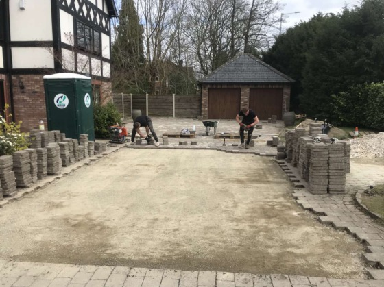 block paving stockport, block paving manchester
