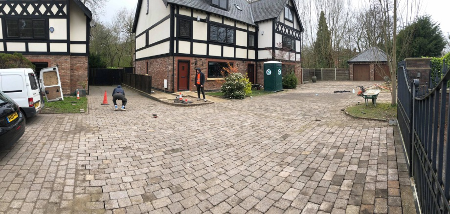 driveways stockport